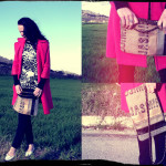 handmade bag made with recycled materials