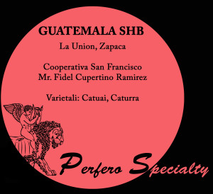 specialty guatemela shb perfero coffee